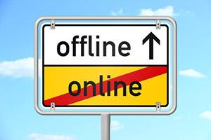 ortsschild himmel v3 online offline I